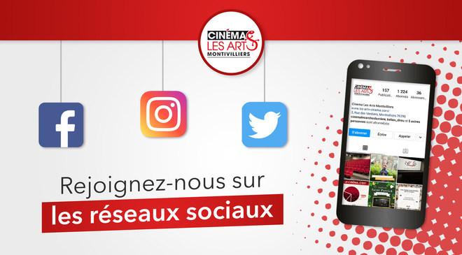 Rejoignez-nous sur les réseaux sociaux !