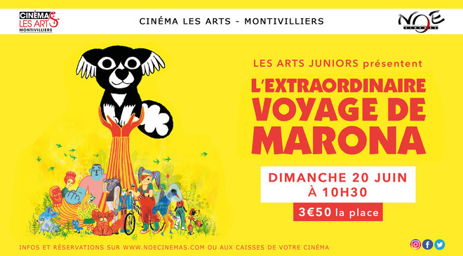 Les Arts Juniors : L'Extraordinaire Voyage de Marona