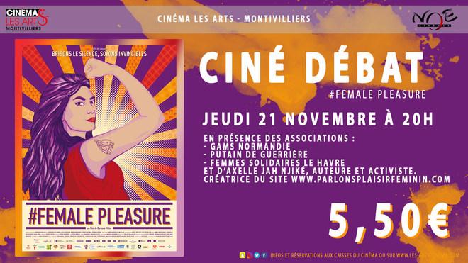 CINÉ-DÉBAT - #FEMALE PLEASURE