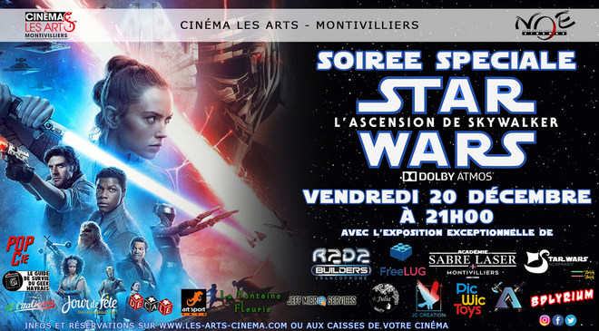SOIRÉE SPÉCIALE - STAR WARS : L'ASCENSION DE SKYWALKER