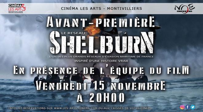 AVANT-PREMIÈRE EN PRÉSENCE DE L'ÉQUIPE DU FILM - LE RÉSEAU SHELBURN