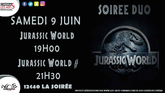 SOIREE JURRASIC WORLD