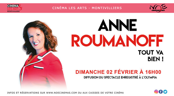 SPECTACLE (rediffusion) - ANNE ROUMANOFF