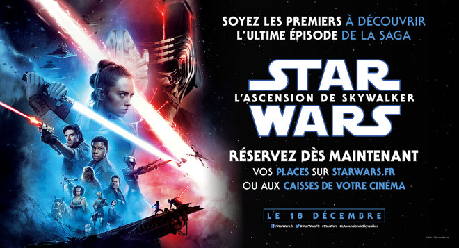 PRÉVENTES - Star Wars l'Ascension de Skywalker