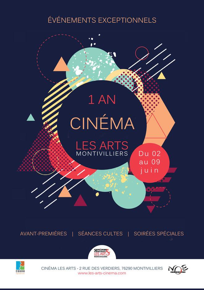 SEMAINE ANNIVERSAIRE : 1 AN DU CINEMA LES ARTS