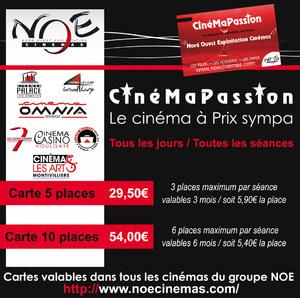 Carte Cezam Ticket Cinema.Accueil Cinema Montivilliers Noe Les Arts